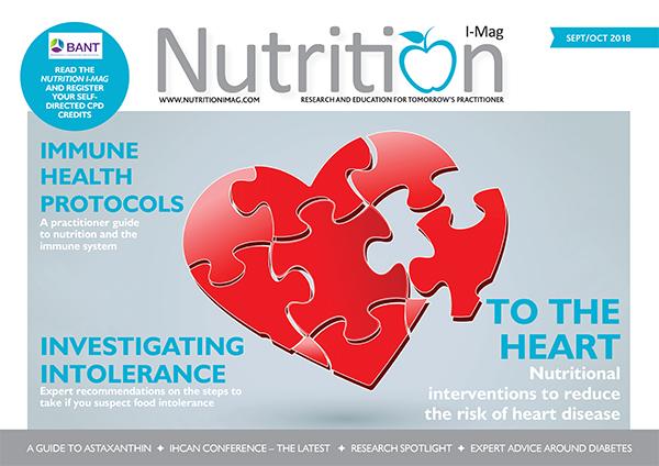 Nutrition I-Mag September October 2018
